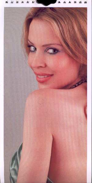 KYLIE MINOGUE CALENDARIO 2006 ABRIL