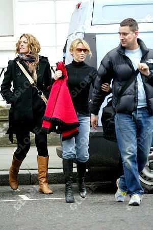 KYLIE MINOGUE con Leann y William