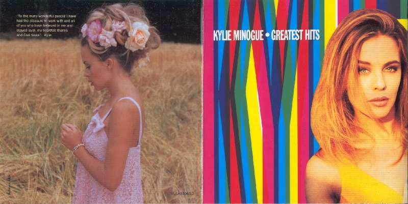 KYLIE MINOGUE GREATEST HITS CD