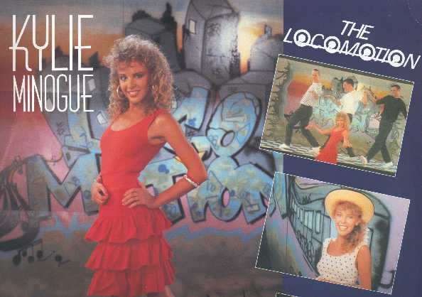 Kylie Minogue. The Locomotion