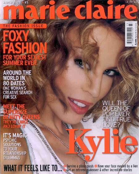 KYLIE MINOGUE IN MARIE CLAIRE