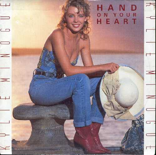KYLIE MINOGUE HAND ON YOUR HEART SINGLE