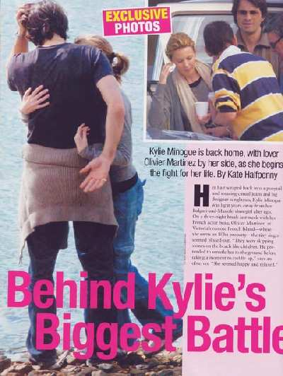 KYLIE MINOGUE IN WHO